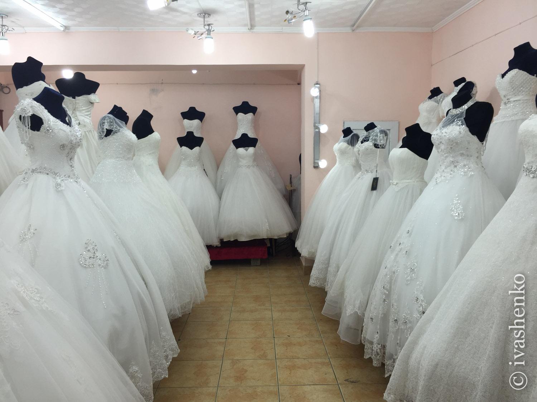 Свадебное платье в оше